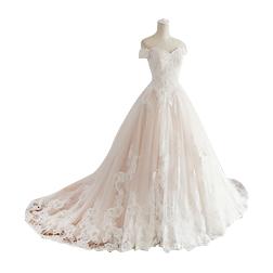 New 2019 Princess Wedding Dresses Turkey White Appliques Pink Satin Inside Elegant Bride Gowns Plus Size