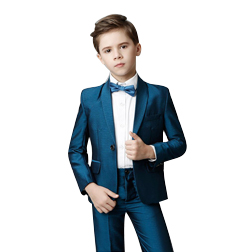 Handsome High Qulaity Two To Five Pieces (Jacket+Pant+Vest) SUit Kids Wedding Suits In Stock Boys Formal Tuxedos For Sale Online