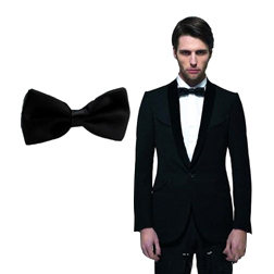 Black Groom Bow Ties for Men Suits Fashion Men Formal Occasion Formal Wear Tuxedos Ties Cheap Tie