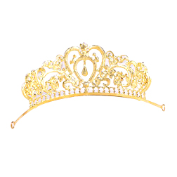 Bling Beaded Crystals Wedding Crowns 2018 Bridal Diamond Jewelry Rhinestone Headband Hair Crown Accessories Party Tiara Cheap Free Shipping