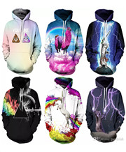 3D Animal Print Fashion Sport Women Hoodies