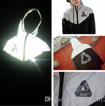 hiphop windbreaker 3m reflective jacket