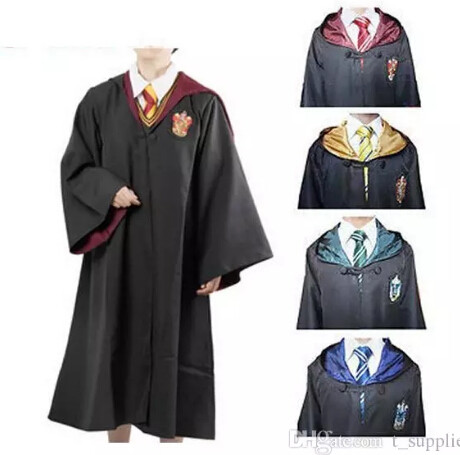 Harry Potter Robe Gryffindor Cosplay Costume