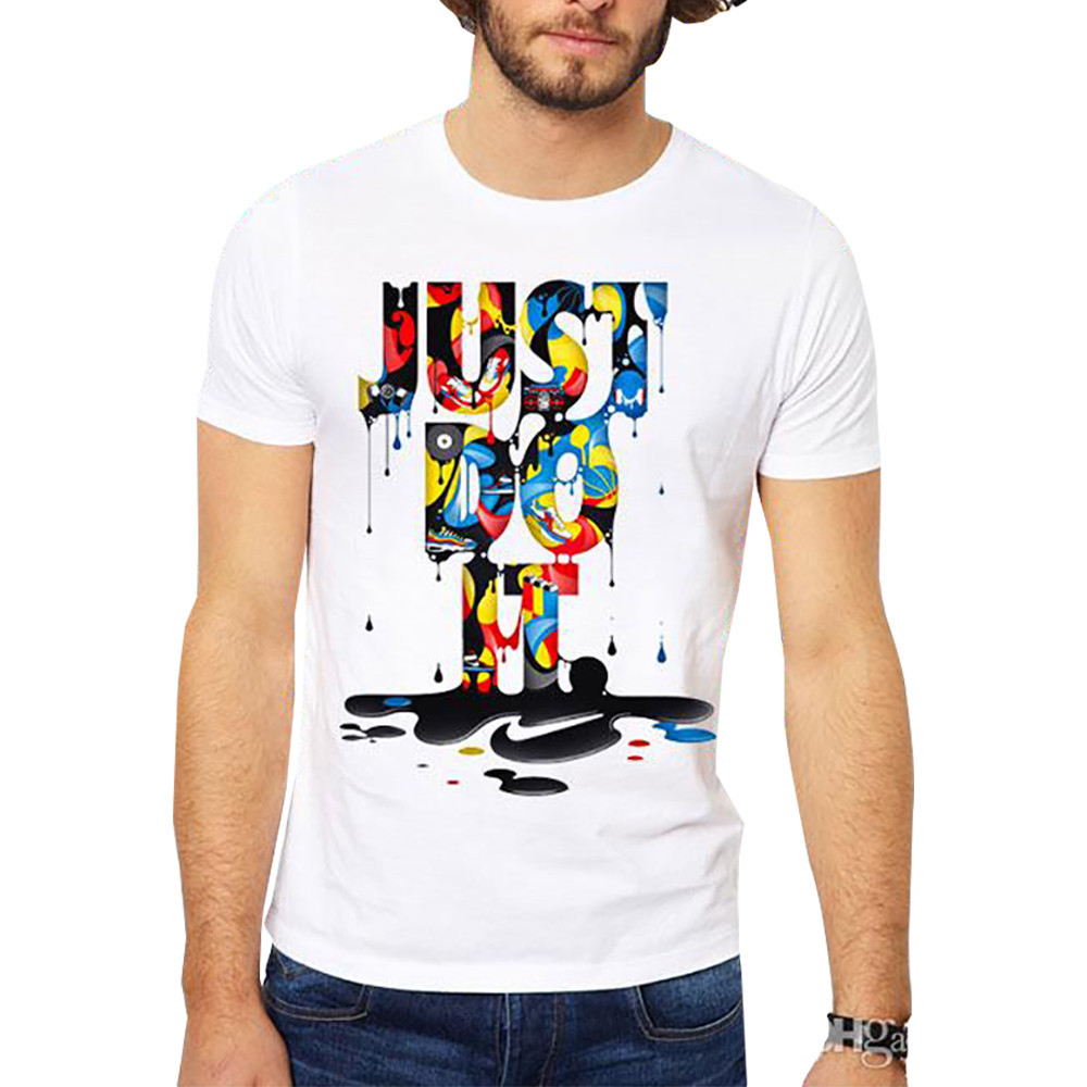 JUST DO IT Printed Men Tshirts