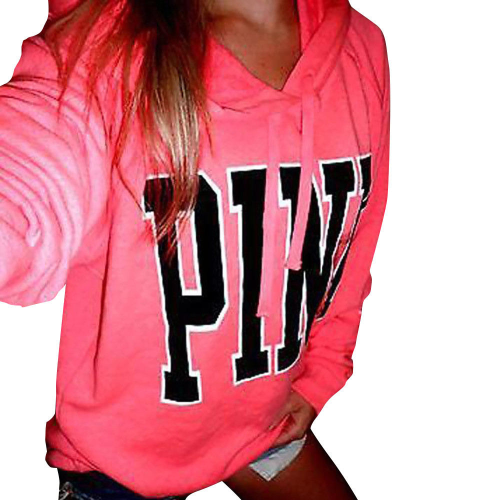 Fashion PINK Hoodies