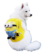 Cartoon Pet Dog Cat Backpacks