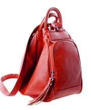 Women's Casual Leather Female Backpacks