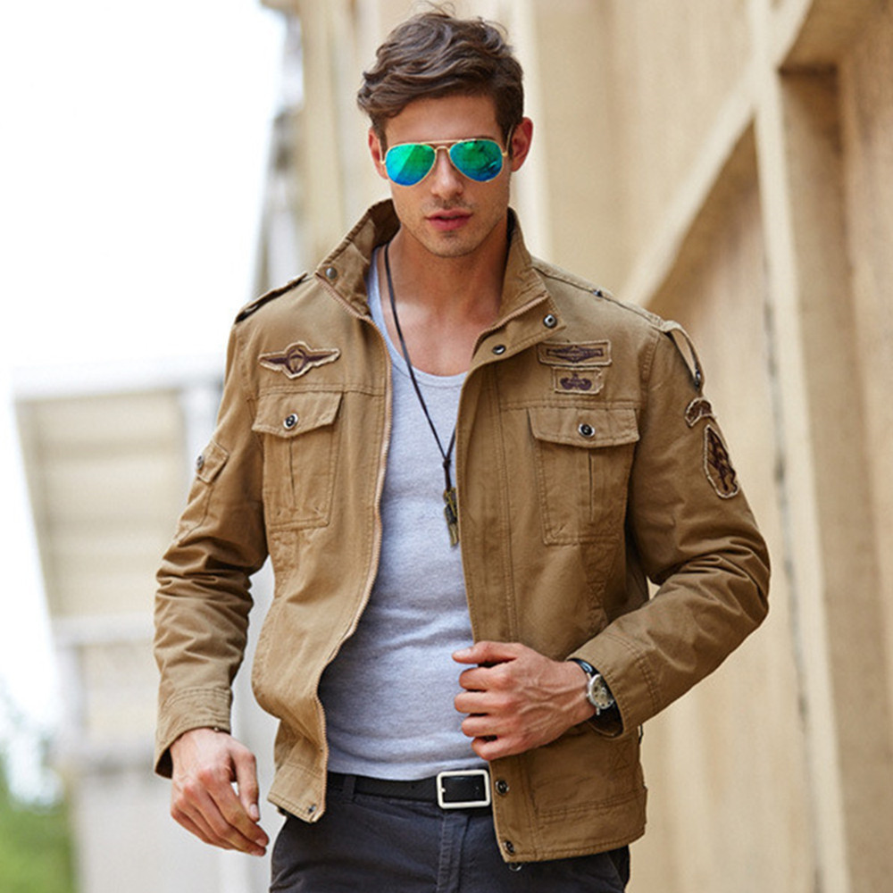 Men Military Army jackets