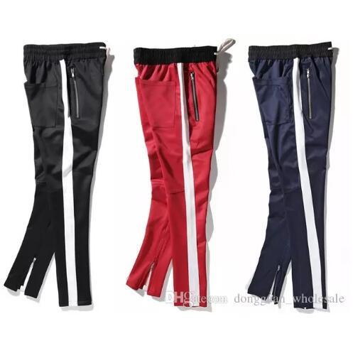 FOG Jogger Pants Black Red Blue