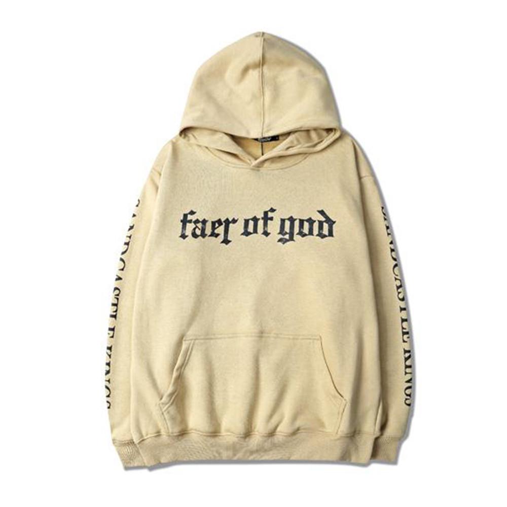 Men Brand Fear Of God Hoodie
