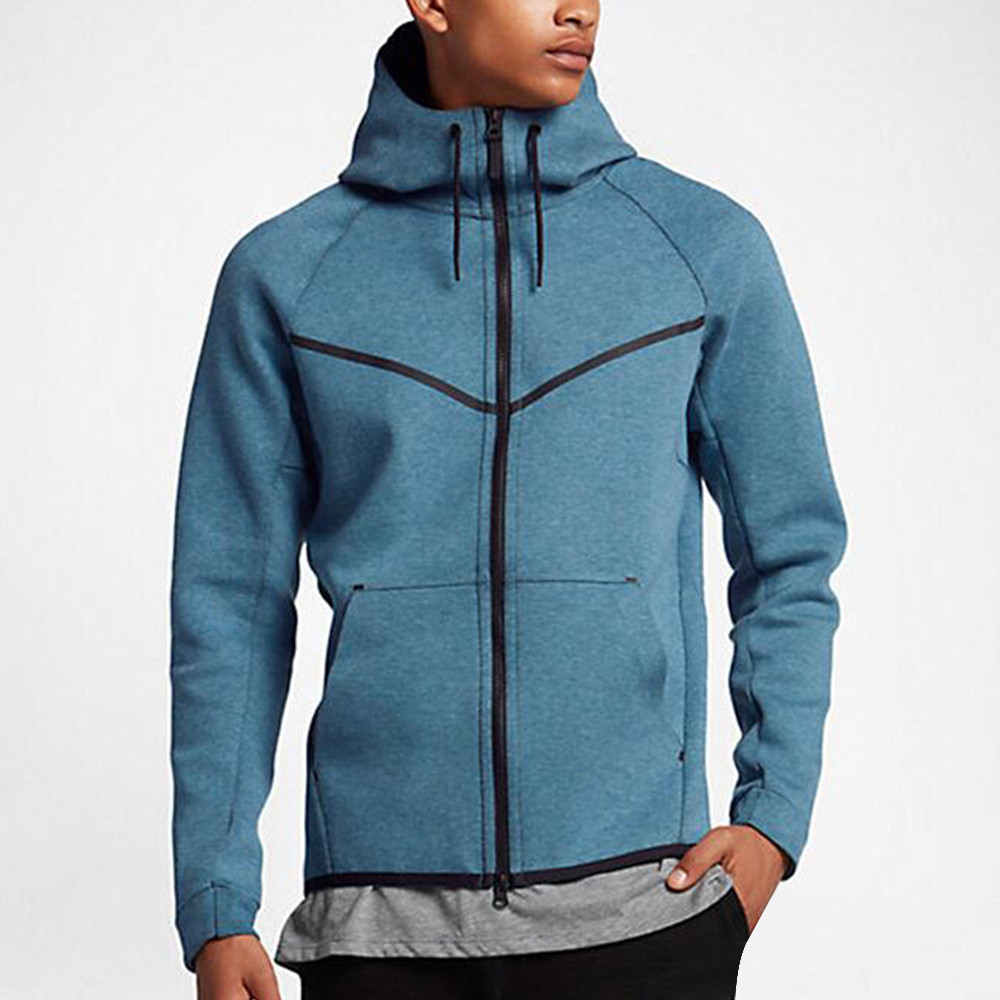 Male Hooded Cotton Sweater