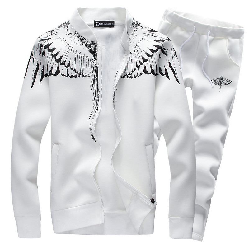 Fashion Tracksuit Casual Sportsuit Mens
