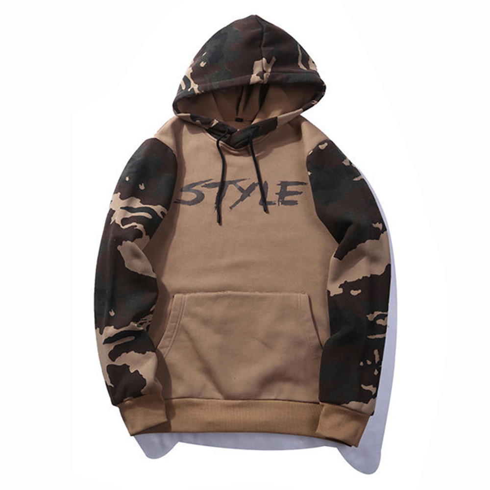 Men Sweatshirts Camouflage