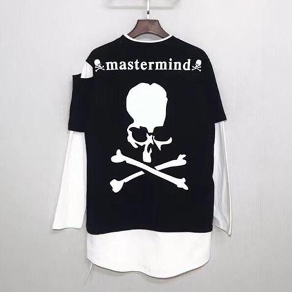 Japan Long sleeve false two T-shirt