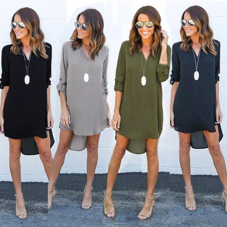Women Casual Loose Dress