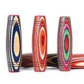 3 couleurs MOKURU Fidget Rollver Rainbow Bâtons de bois colorés Rouleau de bureau Anti Stress Décompression Spinner à main Nouveauté Jouets Cadeau Nouvel arrivé