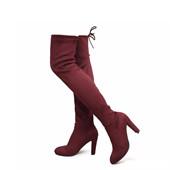 8 couleurs-femmes bottes étirer des bottes hautes femmes sexy cuisse haut bottes dames hauts talons sur le genou hautes chaussures longues