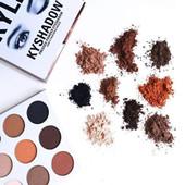 en stock!! Kylie Cosmetics Jenner Kyshadow eye shadow Kit Ombre à paupières BRONZE et BORGUNDY Palette Précommande Cosmétique 9 Couleurs nu kkw beauté
