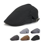 Vente en gros - 2016 Fashion Beret hat casquette Bonnet en coton pour hommes et femmes Visière extérieure Gorillaire Gorras Planas Flat Caps Vente en gros réglable