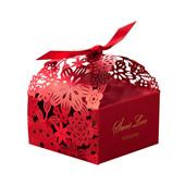 Hot Wedding Favors Boîtes Candy Box Party Favors Hollow Wedding Candy Box Favor Chocolat boîtes bonbons sacs gâteau boîtes