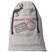 Новые рождественские подарки Сумки для мешков Большой холст Монограммовый сумка-сумка из Санта-Клауса с оленями размер: 50 * 70 см