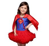 Одежда Супермен-Косплея