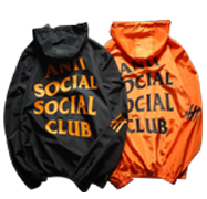 Jacket with Letter Printed