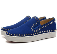 Blue Suede Luxury Casual Shoes,