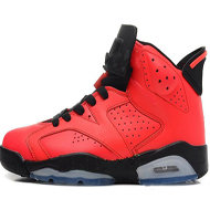 6 Toro infrarouge 23 Red Marque Mens Basketball Chaussures