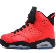 6 Toro Infrarot 23 Red Markemens-Basketball-Schuh-