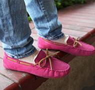 Nouvelles 2014 Coton Ballet est l'hiver Bottes Femme chaussures Flats