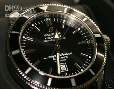 heritage silver watches itm superocean dial watch breitling mens