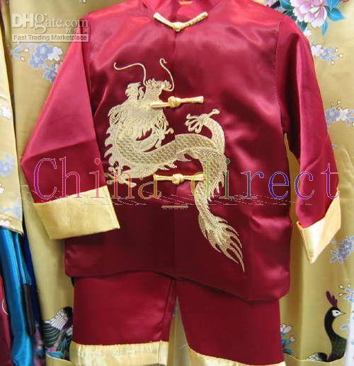 Wholesale Unisex Uniform Pants - Kungfu suits Martial Art Chinese,Tai Suit,uniform tracksuits Tops Pants 20sets lot #2526