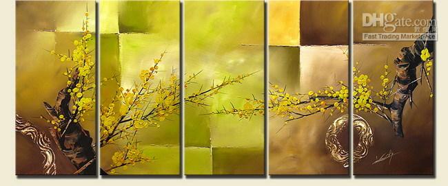 Satın Al 100 El Sanatları Erik çiçeği Orijinal Asya Blossom