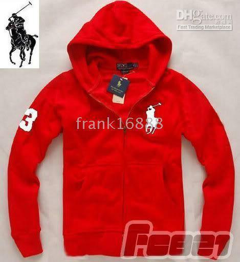 2018 Polo Ralph Lauren Men's Big Pony 3zip Jacket /Hoodies & Sweatshirts  ≫≫Hot Red ≫≫Size:M/L/Xl/Xxl From Frank16888, $42.22   Dhgate.Com
