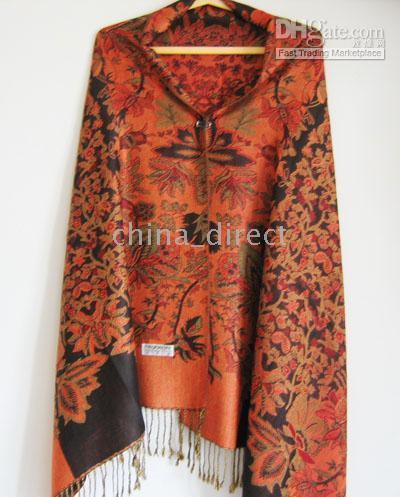 Wholesale Floral Scarves Wholesale - Fashion All seasoned Scarf Wraps shawls Scarf Ponchos Shawl 10pcs lot
