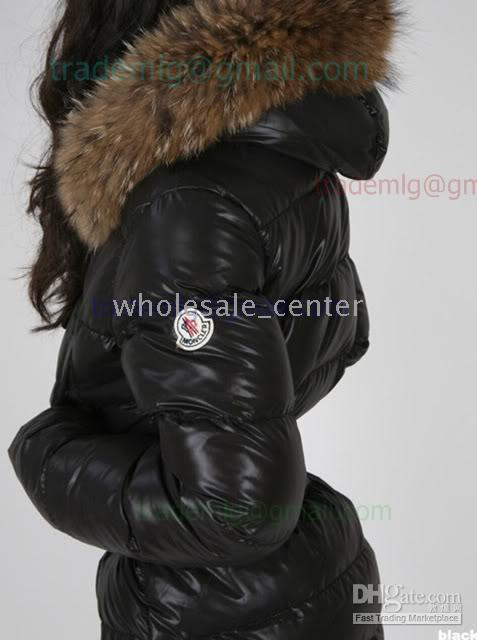 2018 Lucie Moncler Black Women's Goose Down Long Jacket Coat Size 0 1 2 From Wholesale_center, $211.06 | Dhgate.Com