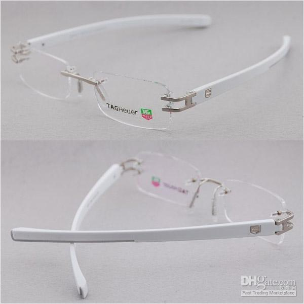 Tag Heuer 3357 Rimless Five Colors Glasses Frame Eyeglass Frames ...