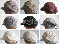 SOMBRERO DE GORRO DE INVIERNO BETET KNIT CROCHET MUJERES CAP 20 pcs   lot  hot 341311a7263