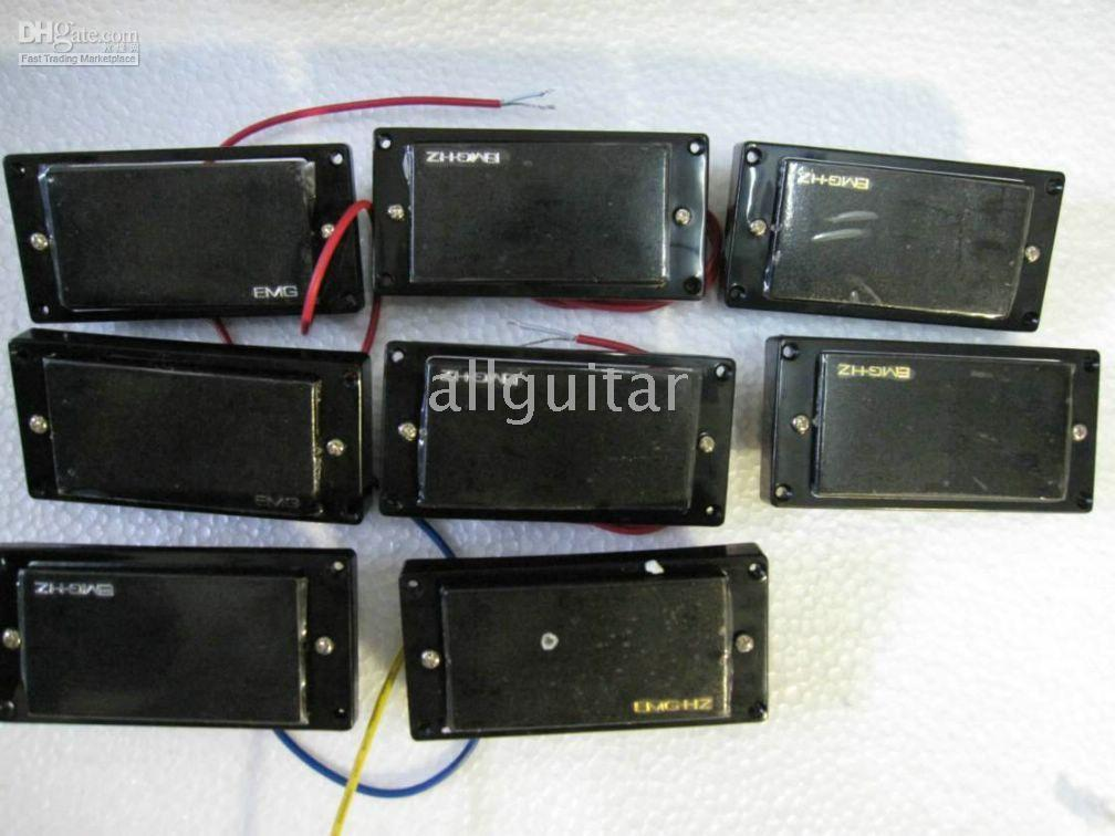 Wholesale Electric Guitars Emg - 8 PCS EMG emg passive Pickups for electric guitar in stock