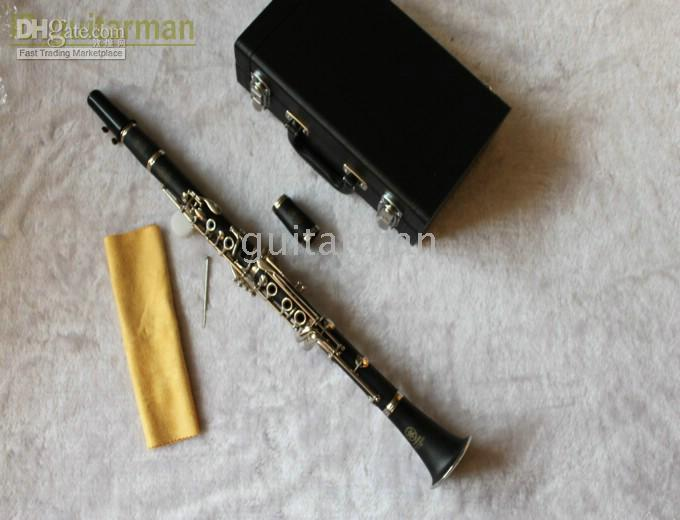 Wholesale Bakelite Key - TOP SELLER Buff Bb Clarinet 17 KEY Clarinet Made in China With Hard Case HOT Clarinet
