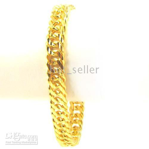 Wholesale Yellow Gold Cross Bracelet - Elegant Women Jewelry Evening Party 10KT Yellow Gold GP Italy Chain Style Charm Bracelet Heart Cross