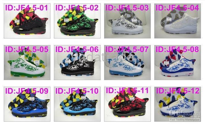 Air Jordans Force Fusion 4.5 Men's Shoes AJF4.5 AFJ4.5 AJF AFJ Jordan 4.5 X Air Force 1 One Af1 Shoe Dress Shoes For Men Suede Shoes From Yudatrade,