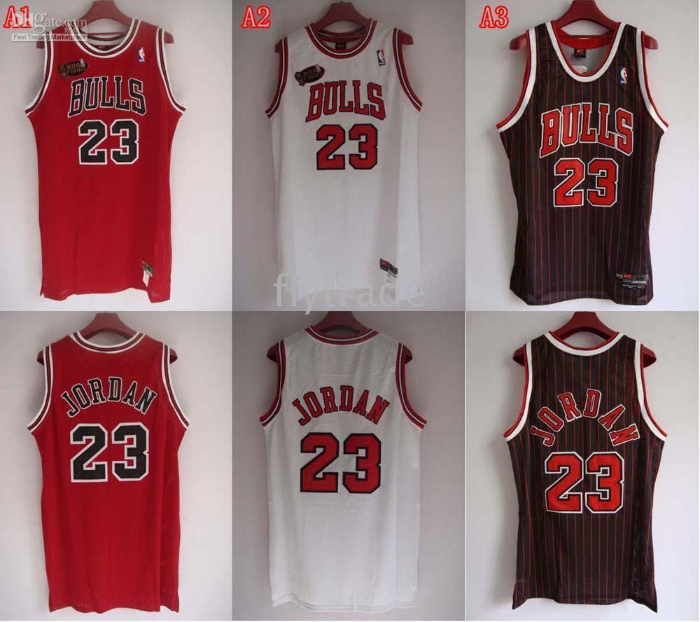 buy online b108a 963c8 HIGH Quality nba jerseys Chicago Bulls #23 Michael Jordan red white black  color jersey