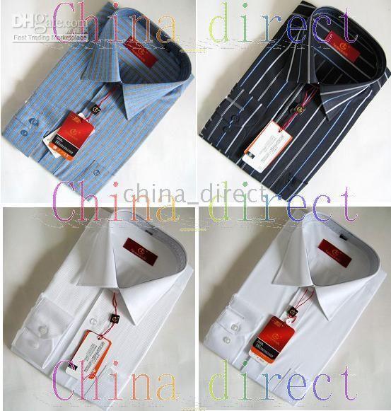 Chinese brand Men's Shirts,Business Cotton shirts,tops Dress shirt,Casual Shirt 10pcs/lot#1703