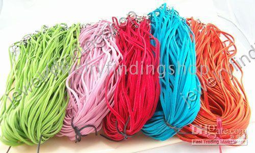 Wholesale velvet With Connector For Necklace str multicolor c0018