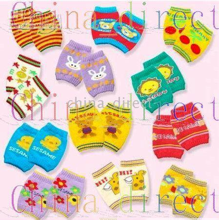 toddler crawling knee pads 2019 - Baby Crawler Crawling Knee Pad toddler Protectors lea warmer kneecap kneeboss100pairs lot cheap toddler crawling knee pa
