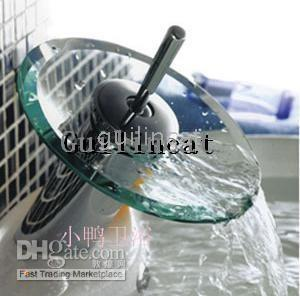 Wholesale WATERFALL Vessel Sink bath Kitchen Faucet Chrome