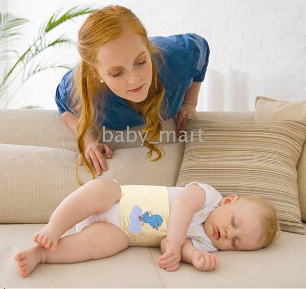 Infant Bellyband Single Jersey Baby Belly Band Binder