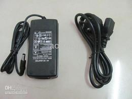 conectores de arame Desconto Fonte de alimentação chaveada de saída única AC / DC 60W 12V 5A. Faixa de luz para uso RGB 5050 SMD, 3528 SMD.
